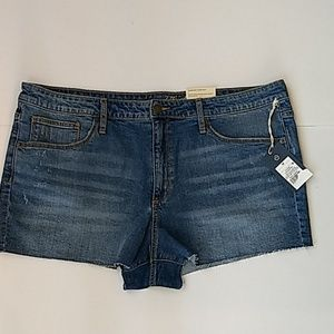 Universal thread high-rise shortie shorts size 18
